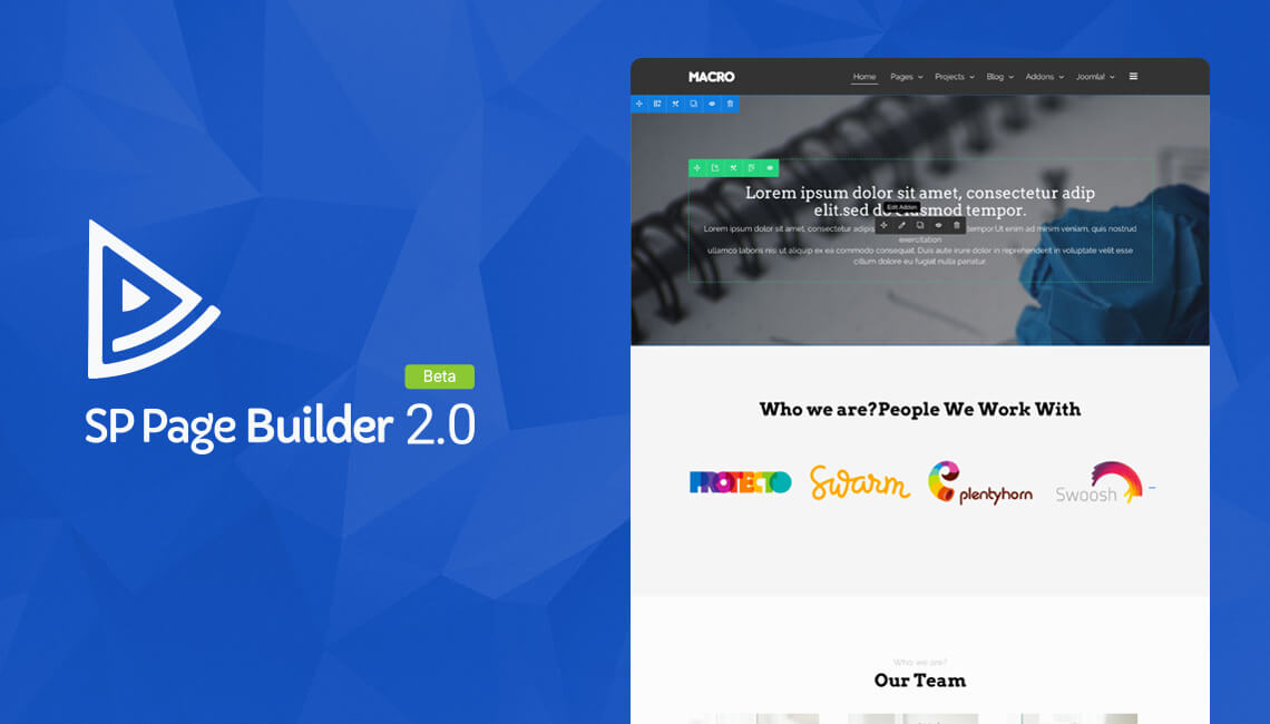 sp page builder 2.0 beta
