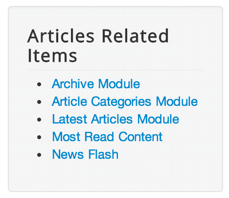 articles related items