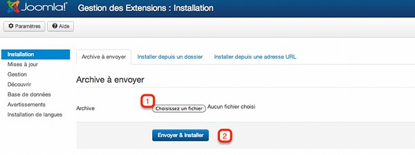 installer Breezingforms sur Joomla!