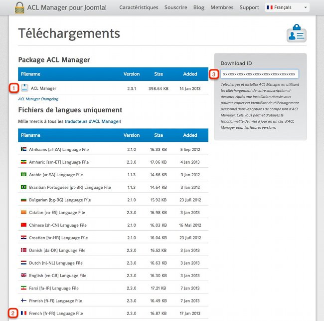 Télecharger ACL Manager
