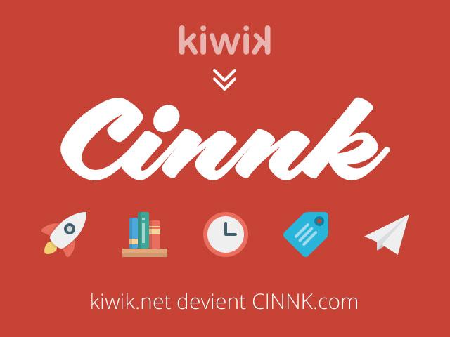 joomla.fr : En 2015 kiwik devient CINNK