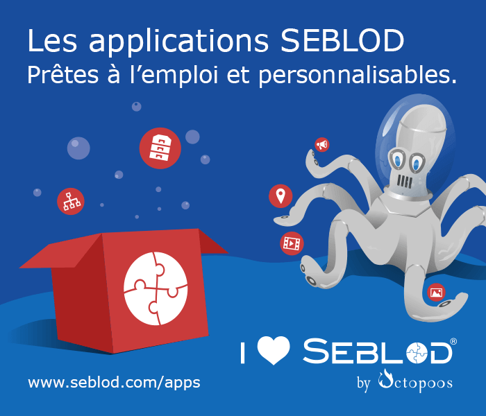 Les applications Seblod - pretes à l'emploi