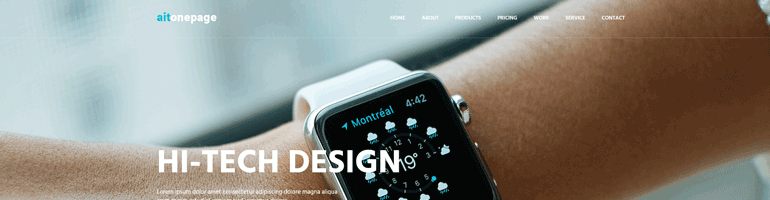 ait-onepage-template