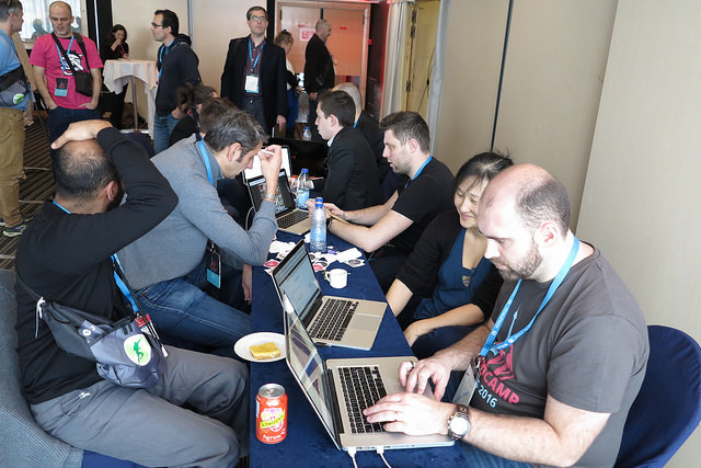 WordCamp Paris 2016 - Le bar des Experts